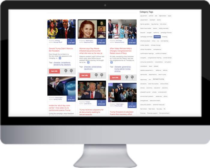 Election 2016 screen